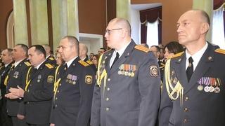 Вручены награды лучшим сотрудникам милиции Гомельской области