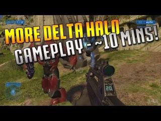 Halo 2 Anniversary - NEW Delta Halo Campaign Gameplay!!