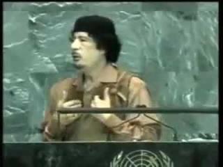 Речь КАДДАФИ при ООН, про вирусы. ПРОРОЧЕСКАЯ.