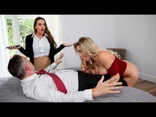 Abigail Mac, Amber Jade - Amber In The Hills: Part 2 (Threesome, Big Tits, Blonde, Blouse, Blowjob (POV), British, Brunette)