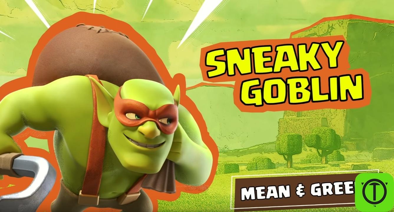 #НовостиCOC Показали второго улучшенного война - Sneaky Goblin