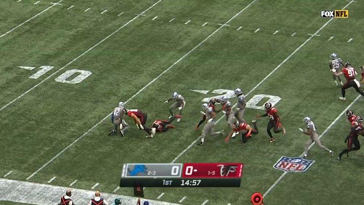 NFL 2020 2021 Week 07 Detroit Lions Atlanta Falcons EN