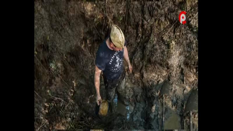 Васильевщина экспедиция 2020 блиндаж