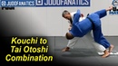 Application of Kouchi to Tai Otoshi Combination by Jimmy Pedro