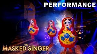 "Russian Dolls sing ""Wonder"" byShawn Mendes   THE MASKED SINGER   SEASON 5"