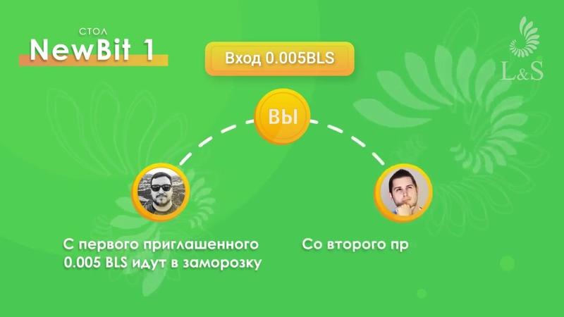 Новая площадка NewBit от L S Club Заработай свой биткоин