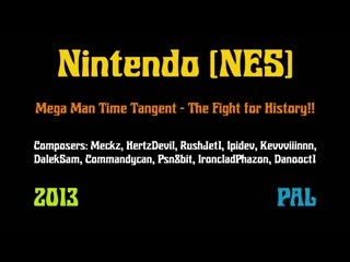 Nintendo - Mega Man TT (Time Tangent)