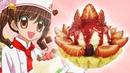 Клубничный торт Улыбка Ангела из аниме Великолепный Кондитер