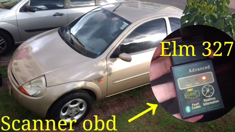 VIVAS AOS CHINESES Scanner automotivo OBD 2 bluetooth ELM 327 Barato e útil Ford ka