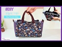 DIY Big Pocket Bag/빅포켓 가방만들기/Cross Body Bag /크로스백만들기/토트백만들 기/가방만들기