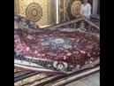 Red Persian design handmade silk rug from Yilong, do you like it?