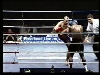 Dutch Kickboxing  1998 Thaiboxing Fight Night Amsterdam Main Fight  I. Hippolyte vs. P. Ubeda