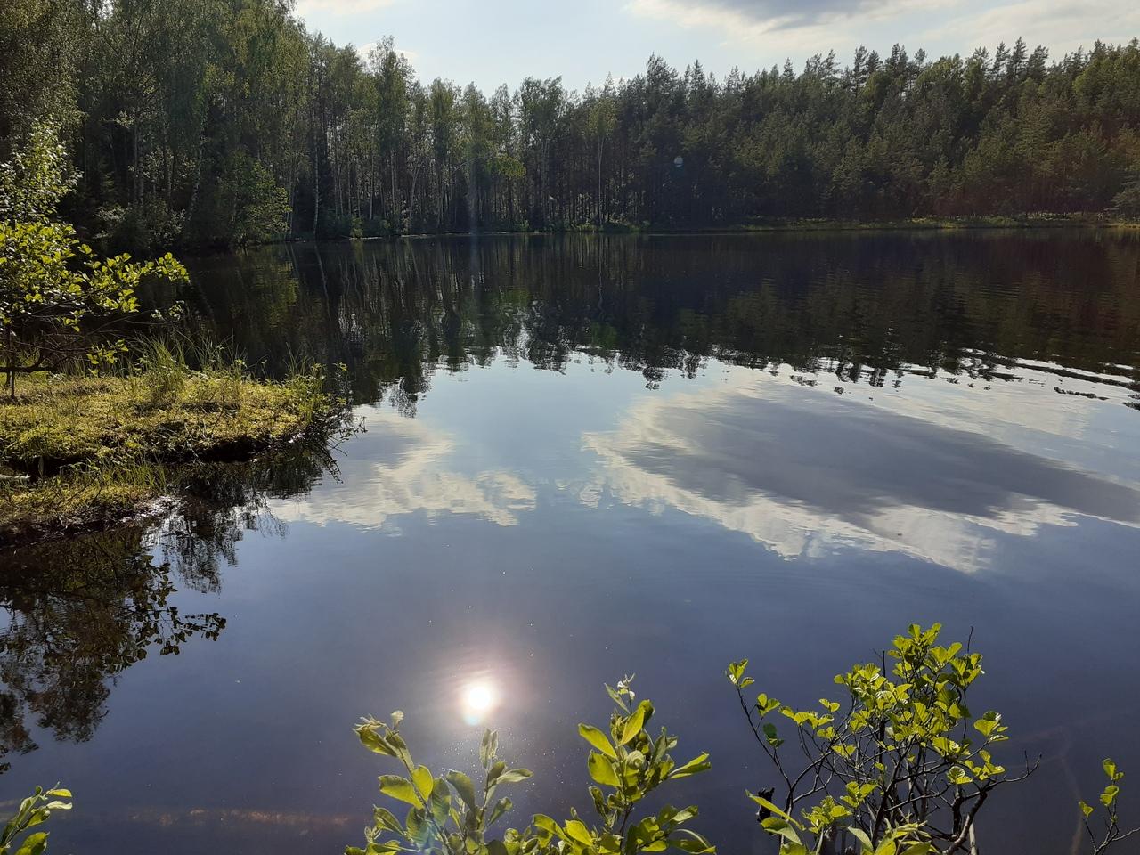 Озеро Малое Чертово - прекрасный уголок Карельской природы под Петербургом