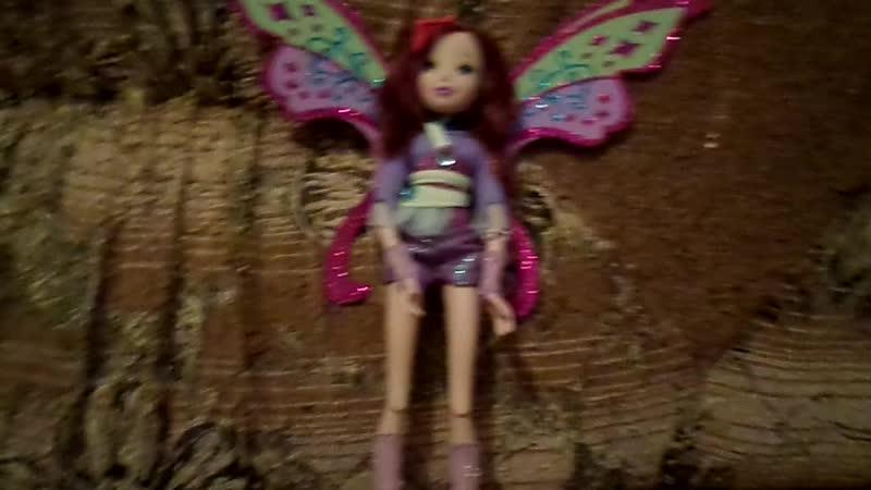 Обзор на куклу Винкс Текну БеливиксTecna Belieix