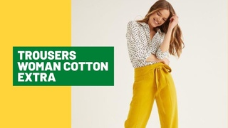 TROUSERS WOMAN EXTRA