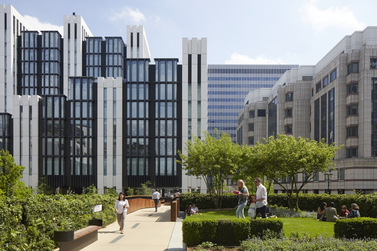 London Wall Place by Make Architects
