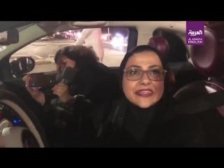 @alarabiya_eng one of saudiarabia capital riyadhs first female drivers speak on historic