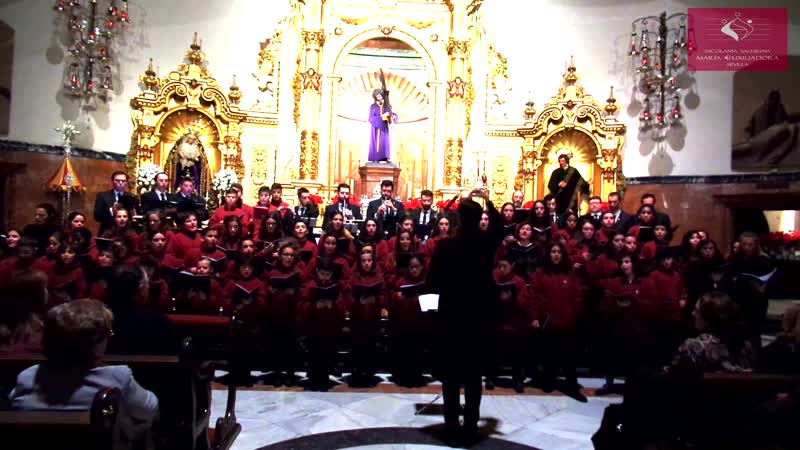 Tomas Luis de Victoria Caligaverunt Oculi Mei La Escolanía Salesiana María Auxiliadora