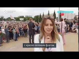 Как делают фейки на госТВ в Беларуси видео от одной записи, аудио – от другой