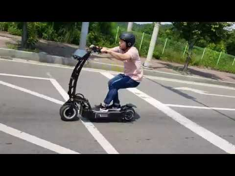 Electric scooter WEPED RR test