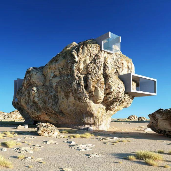 Дом в камне