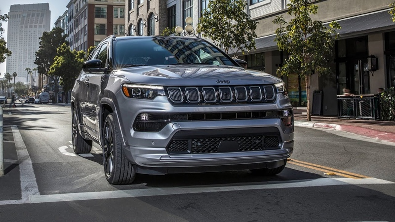 2022 Jeep Compass USA Premium Compact SUV Features Details and Design