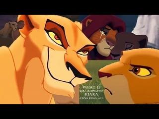 What if Zira kidnappes Kiara? (Lion King AU)
