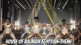 House of Balmain SLAY Egyptian-theme Performance! (Remember the Times)   Legendary HBO Max