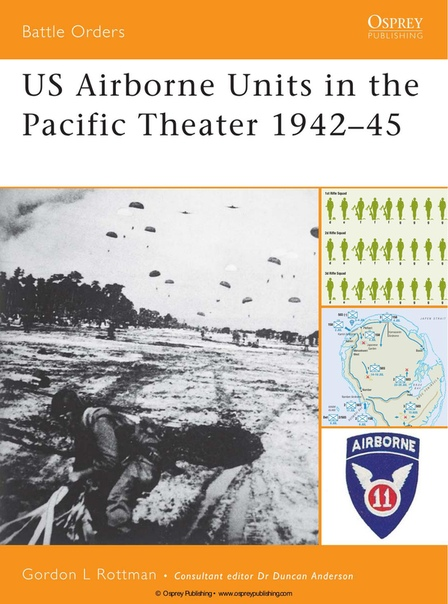 US Airborne Units in the Pacific Theater 1942-45 (Osprey Battle Ordes 26) by Gordon L