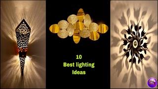 ❣️10  light decoration ideas for room ❣️| fairy lights room decor | Fashion Pixies
