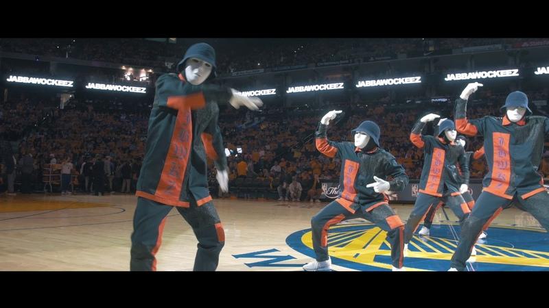 JABBAWOCKEEZ at the NBA Finals 2017