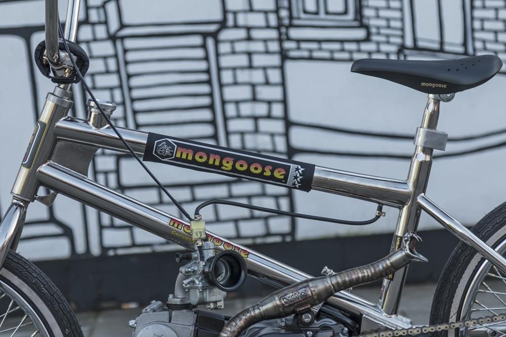 Sub Kulture Cycles: кастом BMX с моторчиокм