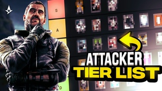 Attacker Tierlist Operation Crystal Guard - Rainbow Six Siege