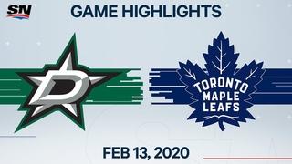 NHL Highlights   Stars vs Maple Leafs – Feb. 13, 2020