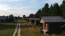 Пинежский амбарный городок на DJI Spark