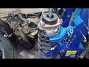 Переборка контрактной стойки с пробегом 90 000км на Pathfinder \ Terrano R50. Замена подшипника