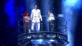 Sting - Eric Saade (Final Melodifestivalen 2015) with Lyrics HD