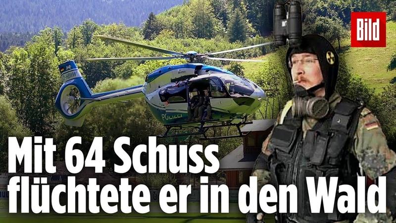So konnte dieser Mann vier Polizisten entwaffnen Schwarzwald