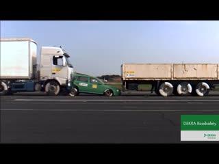 Краш-Тест фуры, 43 км/час