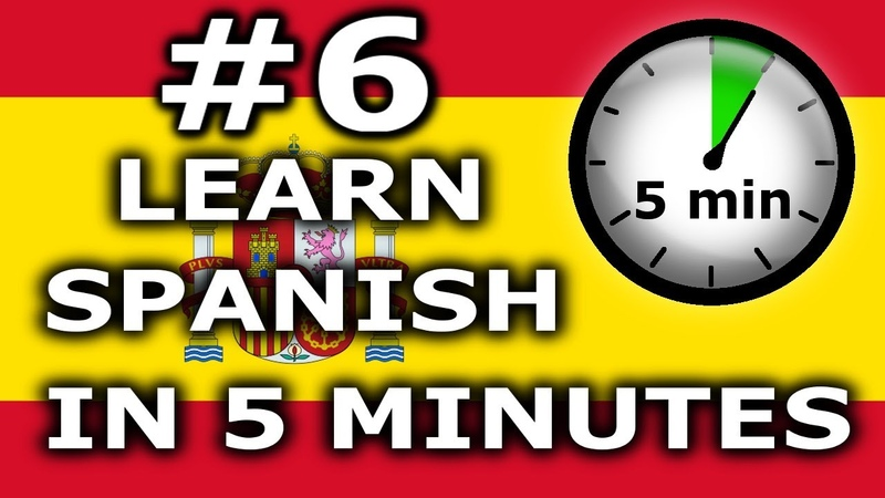 Learn Spanish In 5 Minutes Lesson 6 Colours