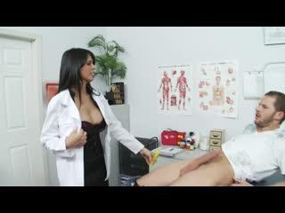 Shy Love - Big Tit Lingerie-Clad Doctor Sucks and Fucks new