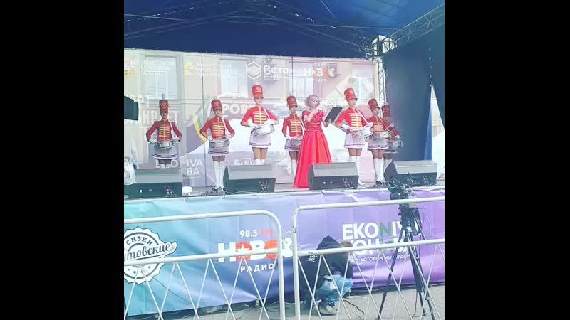 Шоу барабанщиц Кураж г Воронеж