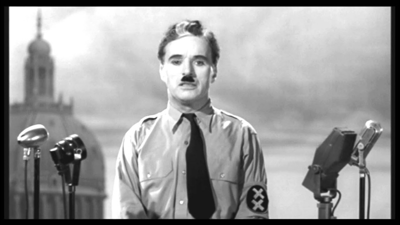 Final Speech of Charly Chaplin in The Great Dictator German subtitle
