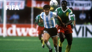 Argentina v Cameroon | 1990 FIFA World Cup | Full Match