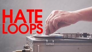 Hate Loop Tape Destruction feat. Red Means Recording, Simon The Magpie and Noir Et Blanc Vie