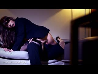 Sexwife manon martin punished and fucked in front of her husband [brunette, high heels, cheating, anal, threesome]