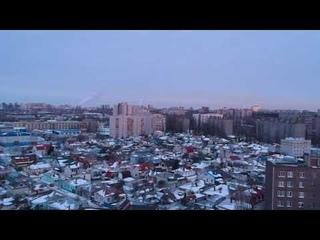 Воронеж (Юго-западный) с высоты птичьего полета / dji spark учимся летать