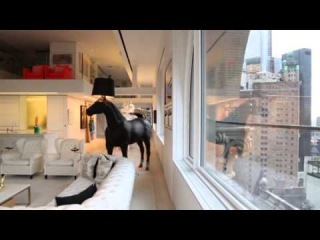 This 4-Story NYC Penthouse Has an 80-Foot Slide