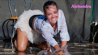 Wetlook Alehandra's water dance  - pt 1