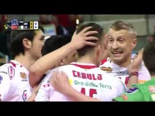Halkbank ANKARA vs Cucine Lube CIVITANOVA FULL MATCH - #CLVolleyM 2016 PLayoff 6 Away Match